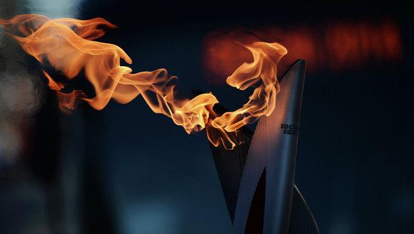 Une flamme historique compte tenu des événements survenus en Ukraine le 22 février 2014